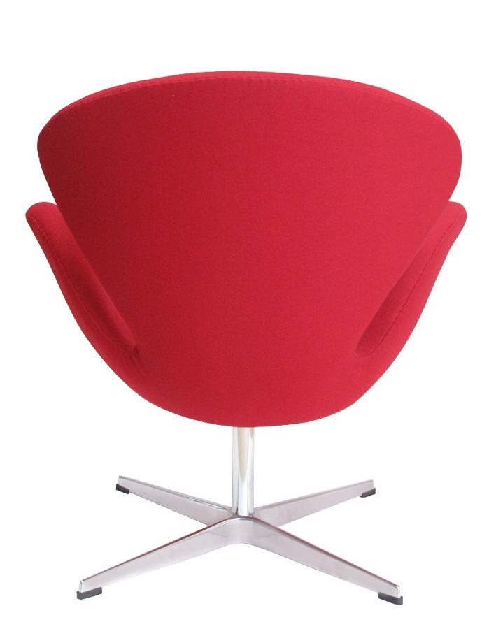 Replica arne jacobsen swan chair red zuca for Jacobsen replica