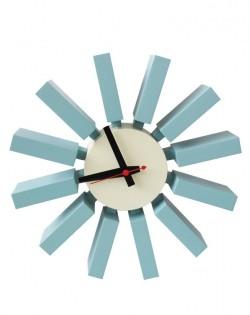 Replica George Nelson Block Clock – Blue