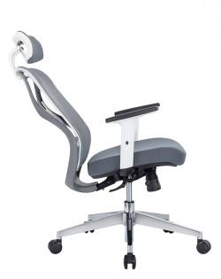 Aviva Ergonomic Office Chair – Grey/White