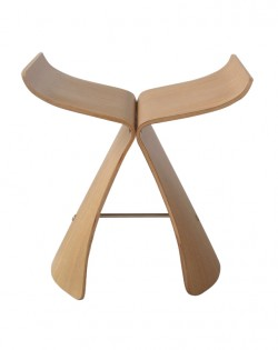 Replica Sori Yanagi Butterfly Stool – White Oak
