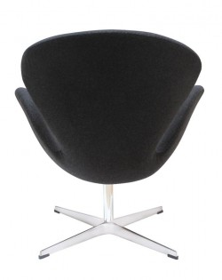 Replica AJ Swan Chair – Charcoal