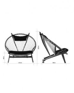 Nordic Web Circle Chair