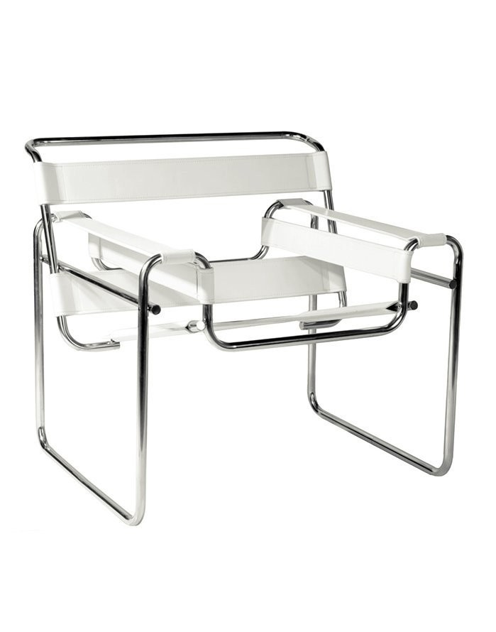 Replica Wassily Chair U2013 Ivory White