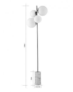 Caslano Globe Floor Lamp