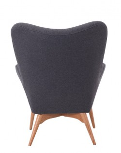Replica Grant Featherston Contour Chair – Charcoal Grey