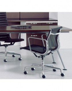 Group Low Back Mesh Office Chair – Black