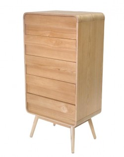 Stellar 5 Drawer Tallboy