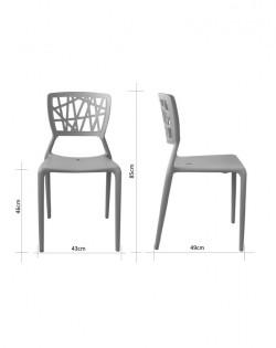 Kriss Kross Chair
