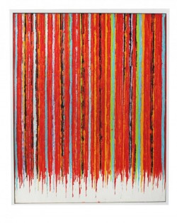 Red Multi Stripe Painting