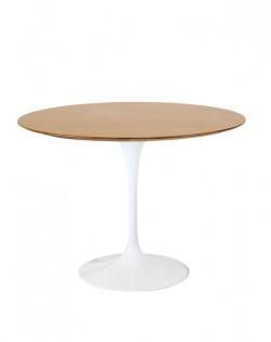 Replica Eero Saarinen Round Tulip Dining Table – Oak