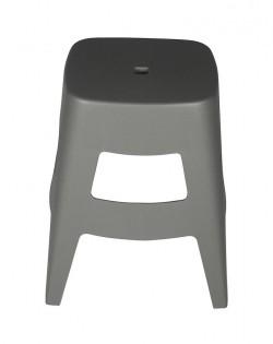 Torre Stool 45cm – Grey