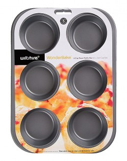 Wonderbake Texas 6 Cup Muffin Pan