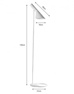 Replica Arne Jacobsen AJ Floor Lamp – White