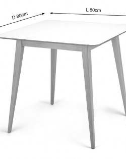 Leonardo Table – 80 cm
