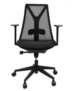 Stratis Office Chair – Black