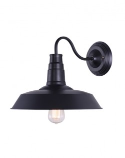 Barn Wall Lamp – Black