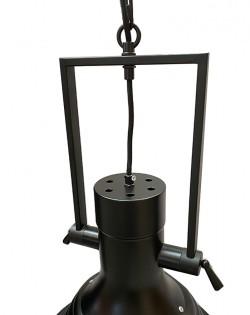 Industrial Maritime Pendant – Black