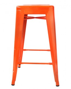 Amelie Stool 75cm – Orange