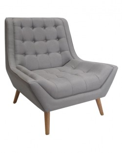 Fitzgerald Chair – Dove Grey