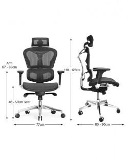 Avanti Ergonomic Office Chair – Black