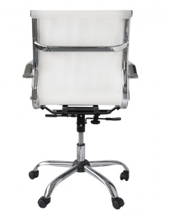 Bureau Low Back Mesh Office Chair – White