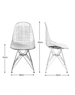 Wire Chair – Black