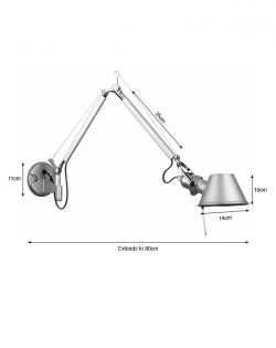 Double Armed Wall Lamp
