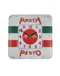 Pesto Enamel Wall Clock