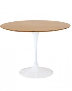 Replica Eero Saarinen Round Tulip Dining Table – Oak