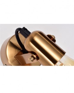 Axis Wall Lamp – Gold