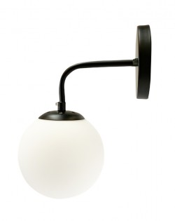 Lungo Wall Lamp – Black