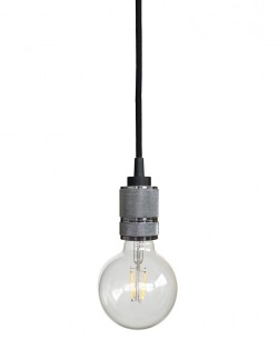 Modern Hanging Bulb – Chrome