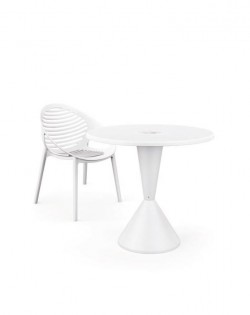 TIG Outdoor Table by Claudio Bellini – White