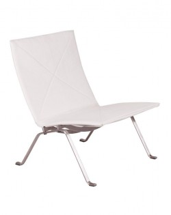 Replica Poul Kjaerholm PK22 Lounge Chair – White