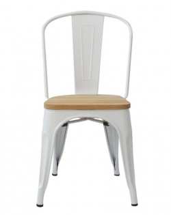 Amelie Chair – White / Ash Wood
