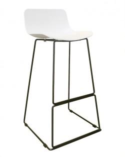 Zen Barstool 76cm – White/Black