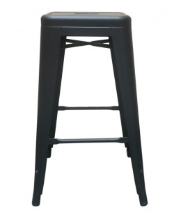 Amelie Stool 66cm – Matt Black
