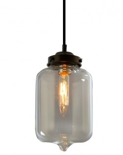 Paragon Glass Pendant – Bell Jar