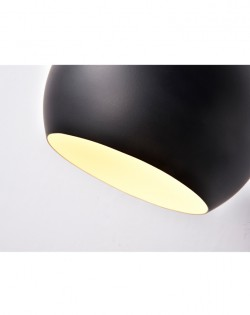 Igloo Wall Lamp – Black