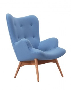 Replica Grant Featherston Contour Chair – Light Blue