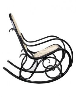 Bentwood Rocking Chair – Black