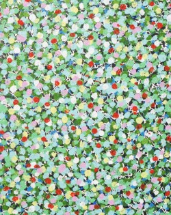 Green Multi Speckle Painting