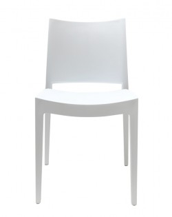 TIG Table and Set of 4 Specto Chairs – White