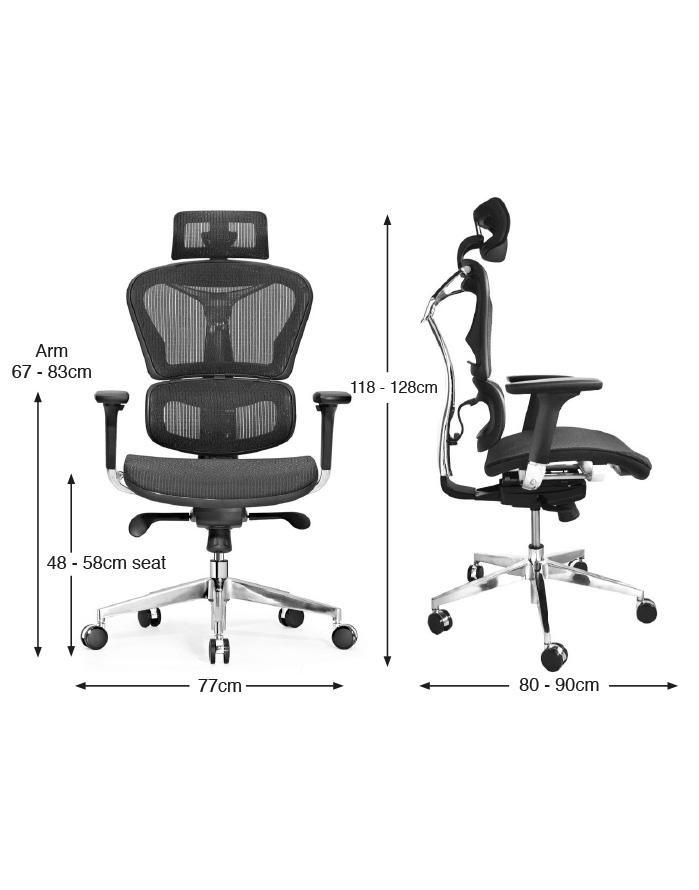 Tiêu chí của ghế giám đốc chống đau lưng
