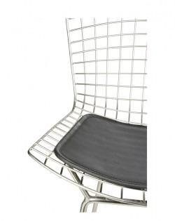 Replica Harry Bertoia Barstool 76 cm – Black Seat