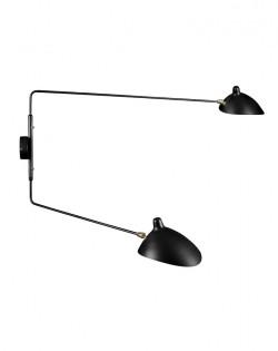 Serge 2 Arm Wall Lamp