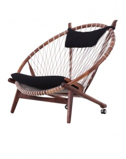 Nordic Web Circle Chair