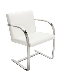 Replica Mies van der Rohe Brno Chair – White