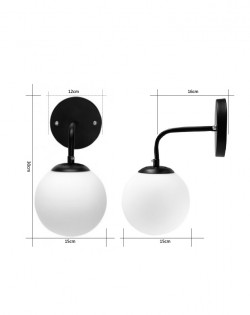 Lungo Wall Lamp – Black