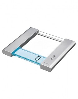 Salter Electronic Glass Kitchen Scale With Clock